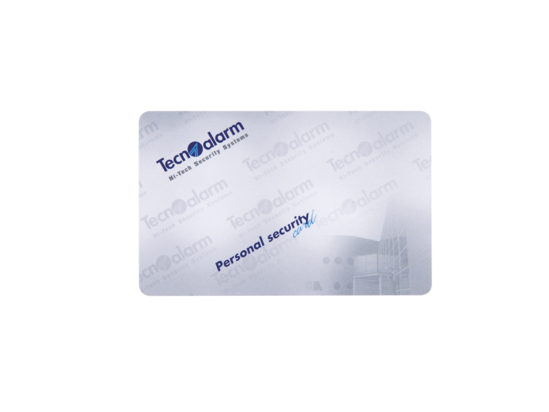 CARD CARTA RFID PERSONAL SECURITY