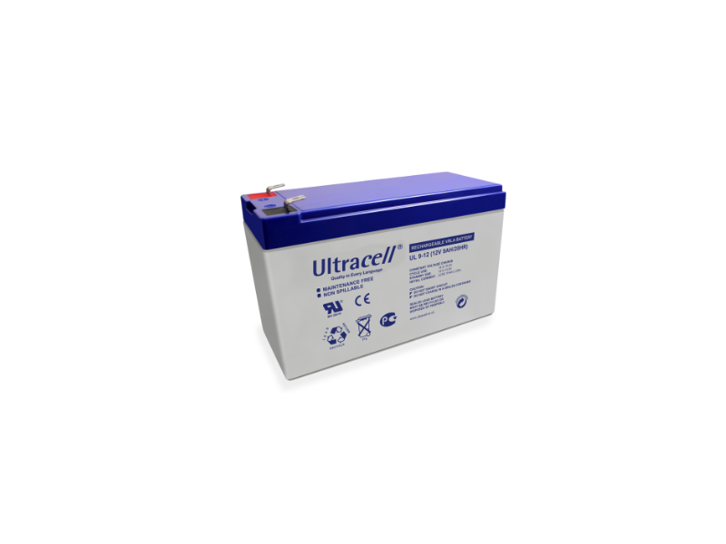 BATTERIA 12V 9 AH ULTRACELL